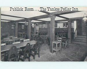 Unused Pre-1980 YANKEE PEDLAR INN RESTAURANT Holyoke Massachusetts MA u4294