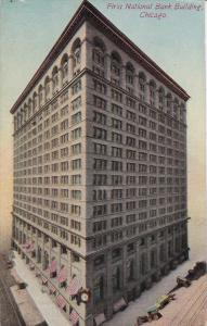 CHICAGO, Illinois, PU-1911; First National Bank Building