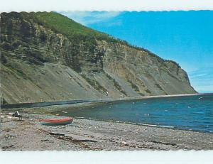Pre-1980 TOWN VIEW SCENE Gaspe Nord Quebec QC p9862