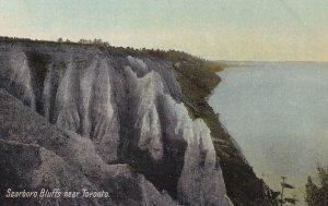 Near TORONTO, Ontario, Canada, 1900-1910s; Scarboro Bluffs
