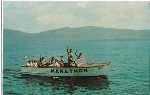 Marathon Motel / Boat, 4 miles north Lake George NY