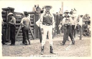 Actor Gene Autry Cowboys Doubleday Real Photo RPPC Postcard