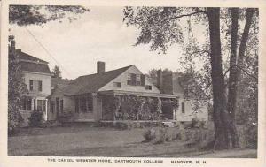 New Hampshire Hanover Daniel Webster Home Dartmouth College Albertype