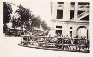 Panama Colon Street Scene Photo