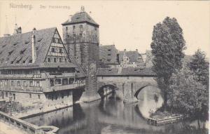 Germany Nuernberg Der Henkersteg