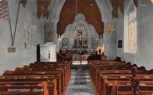 England Sandringham Church Interior (Norfolk)
