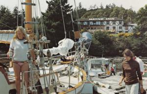 MAYNE ISLAND , B.C. , Canada , 50-60s ; Mayne Island Inn