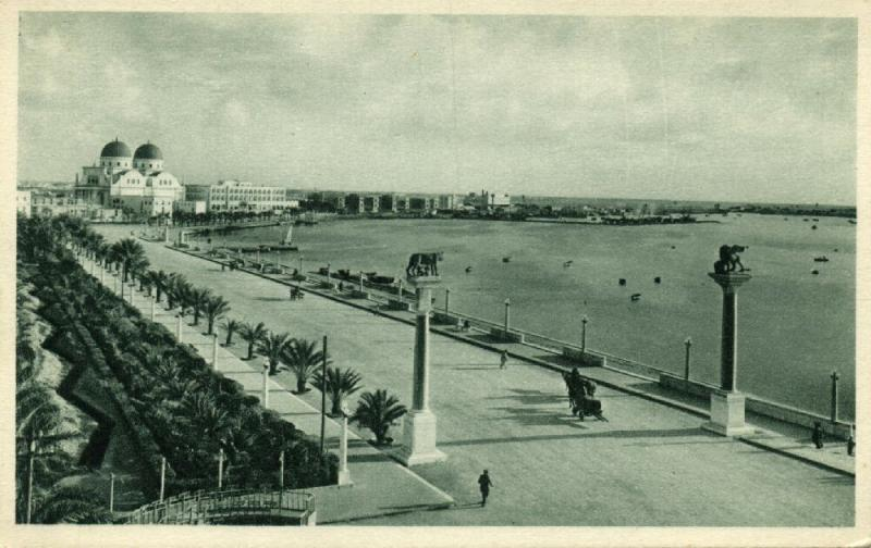 libya, BENGASI BENGHAZI, Lungomare (1920s) II