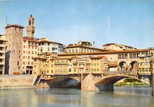 Florence Italy Postcard Hotel Continental Florence