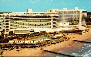 Florida Miami Beach The Fontainebleau Hotel Cabana and Yacht Club