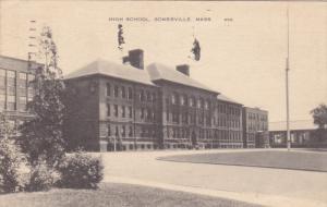 High School, SOMERVILLE, Massachusetts, PU-1948