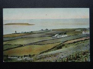 Scotland Isle of Arran KILDONAN & PLADDA - Old Postcard