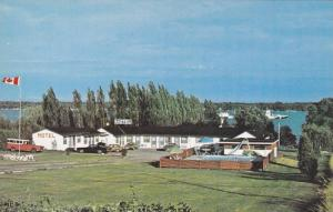 Exterior,  Seaway Motel on The St. Lawrence River,  Hwy 2,  East Brockville, ...
