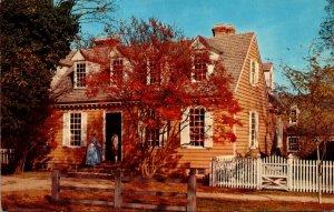 Virginia Williamsburg Brush-Everard House Built 1717