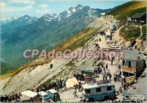Modern Postcard The Pyrenees Col du Tourmalet (2114 m) Road Depart Pic Midi d...