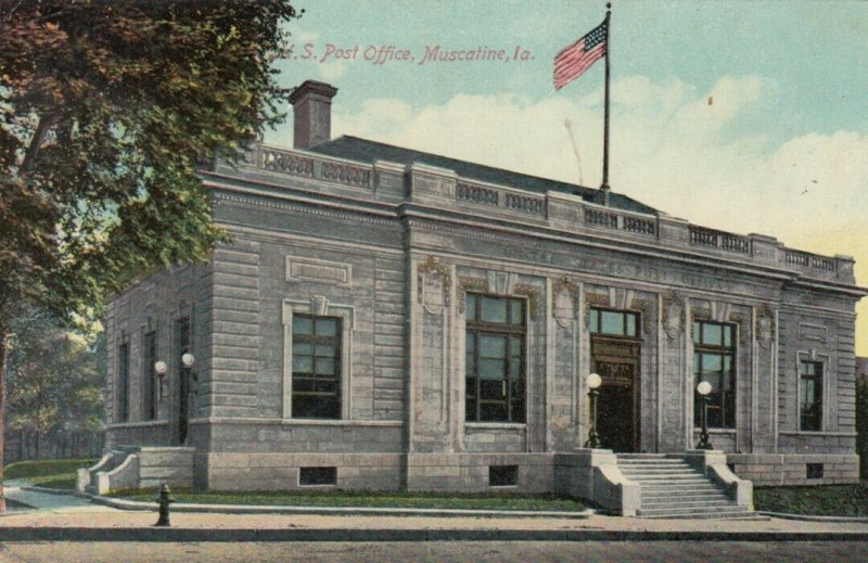 MUSCATINE , Iowa , 1907 ; Post Office