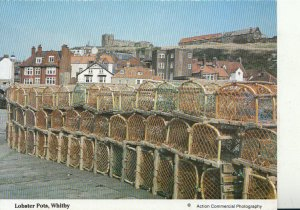 Yorkshire Postcard - Lobster Pots - Whitby - Ref 20558A