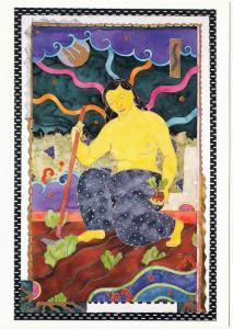 Earth Goddess by Anna Price-Oneglia Visionary Art Postcard