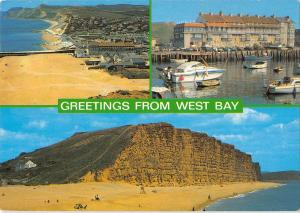 B100304 greetings from west bay uk