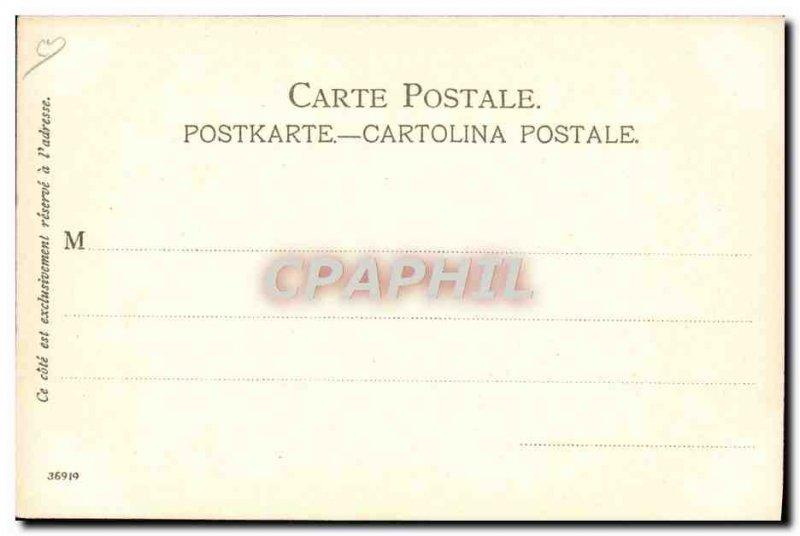 Old Postcard Illustrator Menton Cap Martin