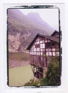 People´s Republic of China:  CHONGQING province , river view, 2000