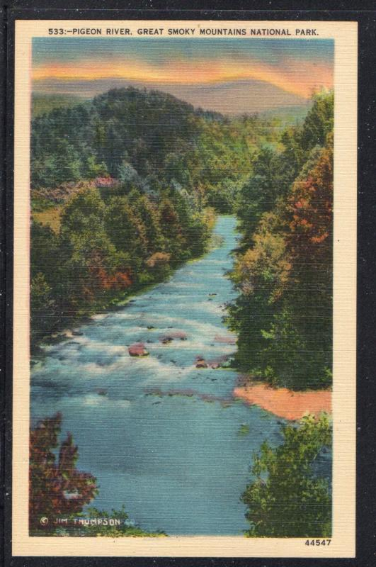 Pigeon River Great Smoky Mountain National Park  unused
