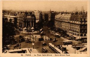 CPA Paris 6e Paris-La Place Saint-Michel (312374)