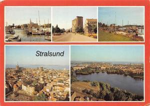 Stralsund Blick auf den Hafen, Am Heinrich Heine Ring Seglerhafen Harbour