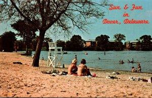 Delaware Dover Silver Lake Recreation Area Beach