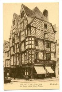 Ornements D'Eglise, Old House Called Adam House, Angers (Maine-et-Loire), Fra...