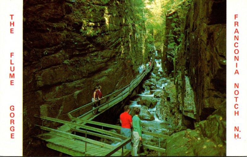 New Hampshire White Mountains Franconia Notch The Flume Gorge