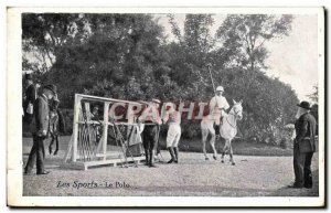 Old Postcard The Horse polo
