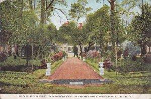South Carolina Summerville Pine Forest Inn Winter Resort 1918