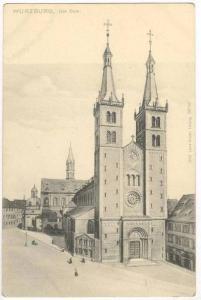 Würzburg , Germany, 1890s Der Dom