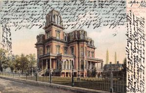 SALT LAKE CITY UTAH~THE AMELIA PALACE~FRANK LEIB PUBLISHED POSTCARD 1906