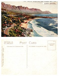 The Twelve Apostels and Camps Bay, C. P. South Africa