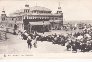 SOUTHPORT , England , PU-1909 ; Pier Pavilion TUCK