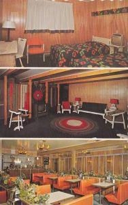 3-views,  Hotel-Restaurant Le Marmiton, Trois-Pistoles,  Quebec,   Canada, ...