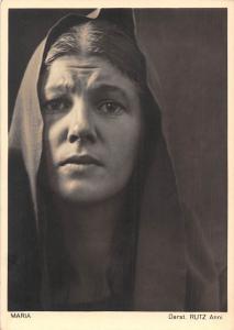 Maria Darst. Rutz Anni, Oberammergau, Jubilaums-Passionsspiele 1934