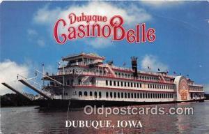 Dubuque Casino Belle Dubuque, Iowa USA Ship Postcard Post Card Dubuque, Iowa ...