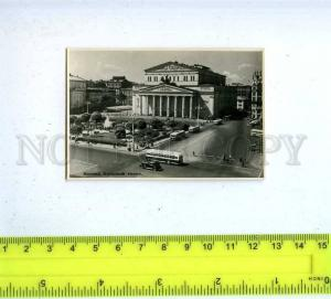 186640 RUSSIA MOSCOW Bolshoi Theatre photo 1953 year
