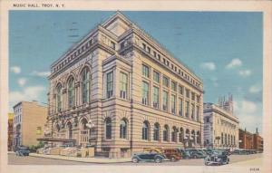 New York Troy Music Hall 1942