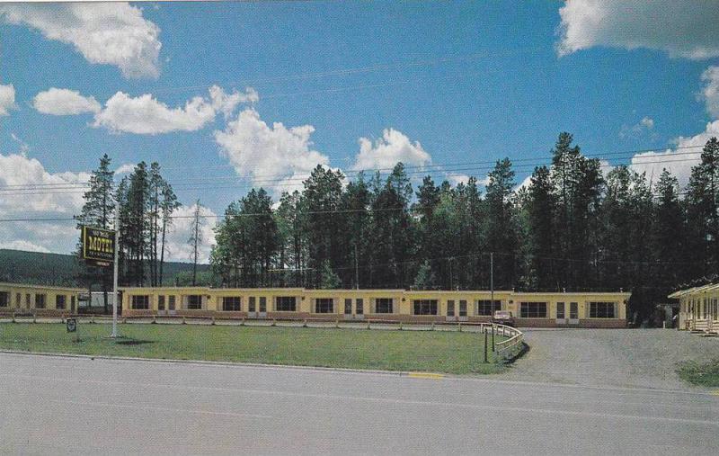 100 Mile Motel,  Cariboo Highway 97,  Vancouver,  B.C.,  Canada,  40-60s
