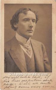 Mr HB Irving Theater Actor / Actress 1903 a lot of corner wear