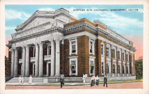Scottish Rite Cathedral, Shreveport, LA, , Early Postcard, Unused
