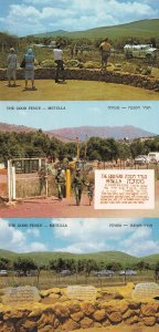 The Good Fence Metulla 3x Isreal Postcard s