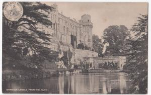 Warwickshire; Warwick Castle From The River PPC Unposted, LNWR Official