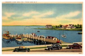 Rhode island   Watch Hill , Samoset Point and Pier