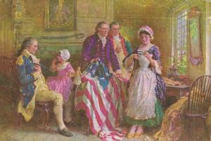 Betsy Ross The Making Of Our Flag 1777