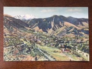Manitou Springs, Manitou Incline & Pikes Peak, Colorado CO D11